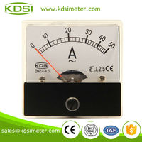 Square type BP-45 50*50 AC50A analog ac ampere meter