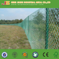 PVC Coated Cheap Farm Fence Chain Link Fencing For Zoo