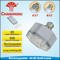 rechargeable emergency ac dc floor led bulb lamp