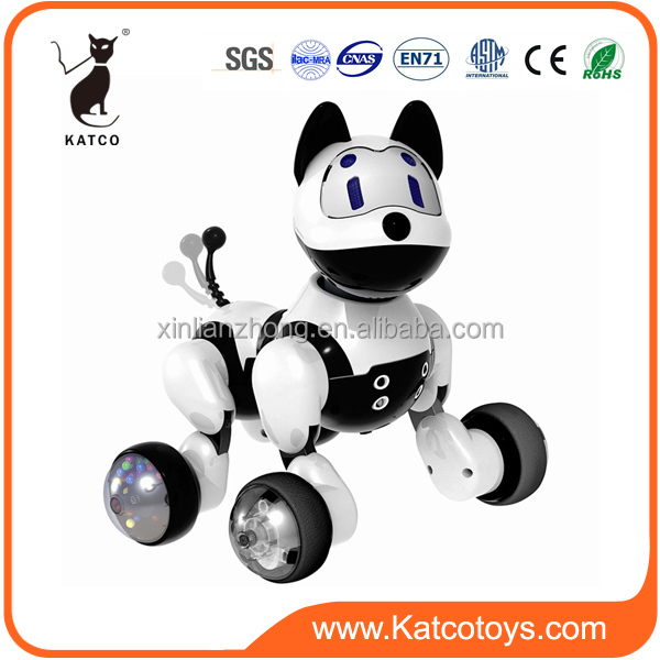 Sound control smart toy robot dog electronic puppy toys to children