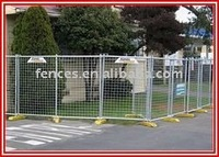 Electric Galvanized Temporary Fence(Factory&Exporter)