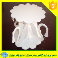 Made in China high quality new design module for plastic cake stands