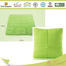 2 in 1 with zipper Magic pillow with quilt