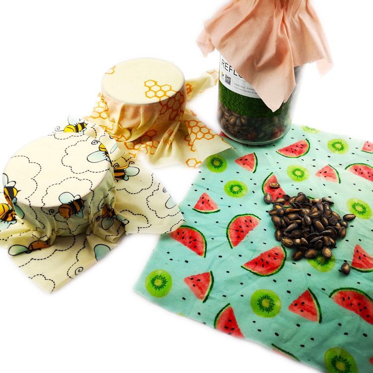 Manufacturer Selling Food Wrap Beeswax Reusable Wrap <strong>Paper</strong>
