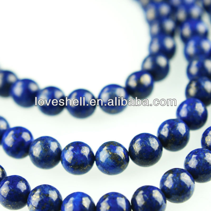 Lapis Lazuli Round Beads Natural Gemstone