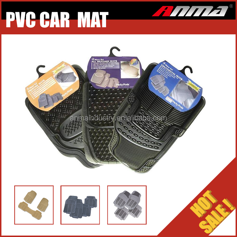 wholesale universal inflatable new design colorful eva 3d pvc car floor mat