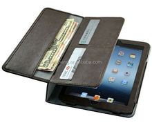 Universal wallet Tablet leather case for ipad2 3 4