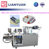 DPB-140 Small tablet Automatic Flat Plate Tablet Blister Packaging Machine Price, thermoforming blister packaging machine