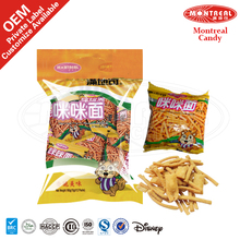 Wholesale snacks chips with prawn cracker flavor