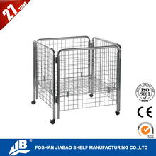 american style wire basket display rack for plush toys for retail store