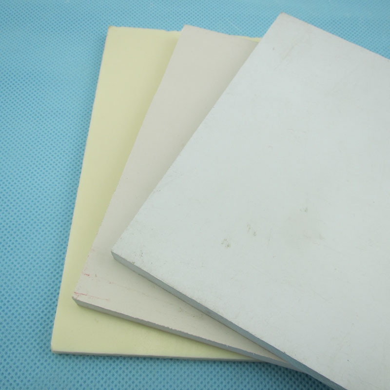 PVC rigid opaque white pvc sheet 15mm pvc foam board with high quality
