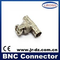 RG58,RG59,RG6,RG11 Coaxial Cable Male Crimp BNC Connector