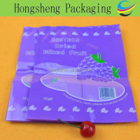 Heat sealing dried food packaging/custom gravure printing plastic bags for dried fruit/dried currant