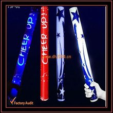 led foam glowing sticks fashion foam sticks party gifts holiday gifts