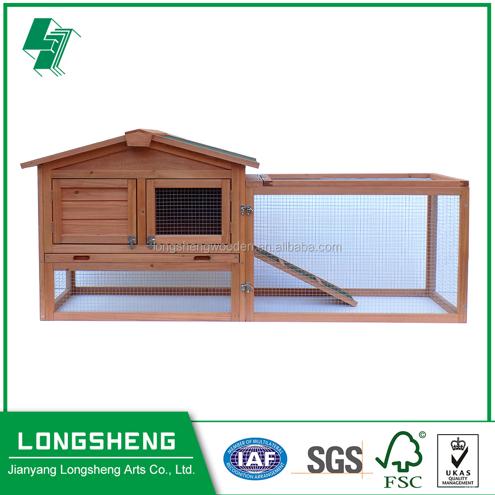 Outdoor Rabbit Hutch