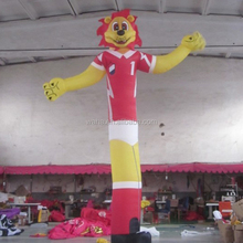 Advertising Lion Inflatable Sky Men Air Dancer Toy with Blower Motor