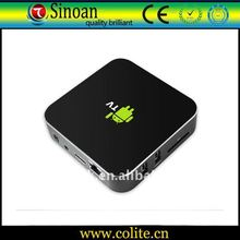 Android Smart TV Box,Amlogic Coretx-A9,Supports HD 1080P/WIFI/RJ45