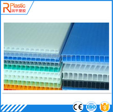 Recyclable PP Material Corrugated Plastic Floor Protection Sheet