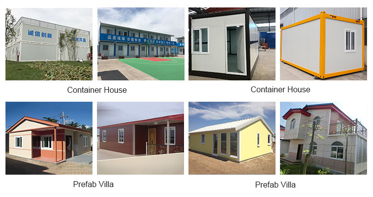 New design high quality flexible prefabricated container house for living