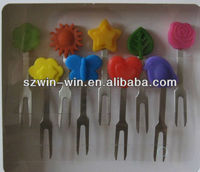 Hot sell silicone snack picks