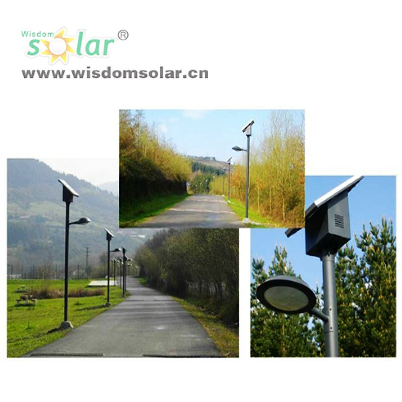 wholesale China made solar powered led street light walkway lighting with high lumens