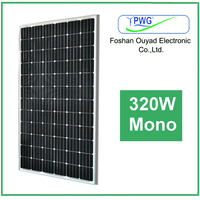 PV Mono Solar Panel 320w for Home Appliances the Manufacturers in China Cheap Price