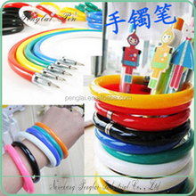 Promotion Bracelet Plastic Flexible Ball Pen