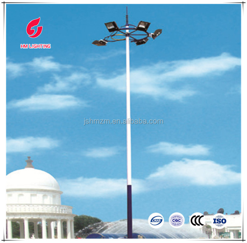 Automatic cool lifting high mast lights price list lights and lightings, round electric pole