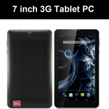 7 inch Tablet PC 3G tablet MTK6572 Dual Core 8GB Android 4.4 Dual SIM dual GPS Phone Call WIFI,3G Tablet phone
