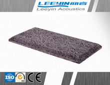 25mm thickness acoustic wood wool fiber cement board price interior decoration