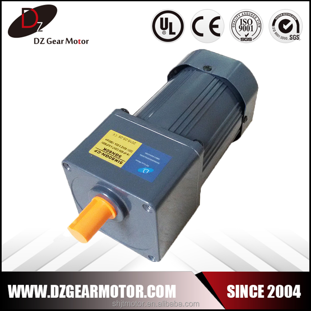 Continuous operation 120w three phase ac induction motor