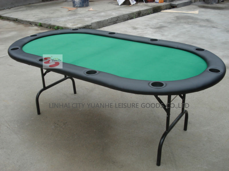 84 inch folding texas poker type poker table for 10 person for 10 person folding poker table