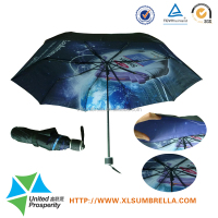 Manual Open In Windproof Foldable Double