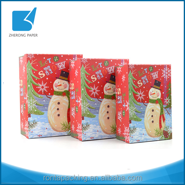 Morden style own brand custom art paper garment packaging box with your design