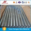 zinc coated corrugated roofing sheet prices /Color coated galvanized corrugated steel sheet /wave tile