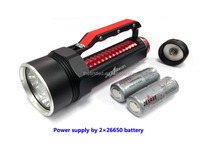 JEXREE Factory 5000Lumen 100m Underwater LED Diving Flashlight T6 U2 Diving Light