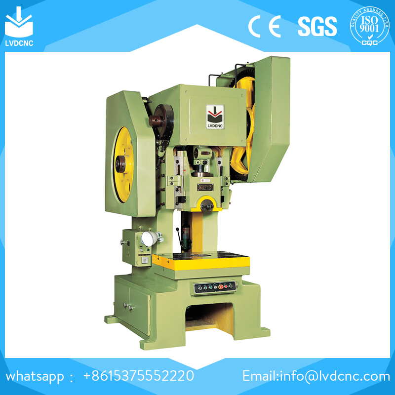J23-200T Mechanical Power Press machine for sale,Fixed Table Eccentric Punching Machine by ISO & CE certificated