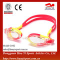 Anti fog transparent durable oem silicone design waterproof durable swimming glasses