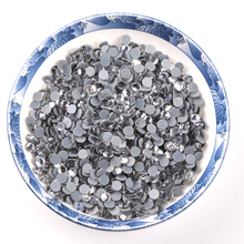new arrival ss20 DMC crystal clear rhinestone hot-fix Stones Rhinestones Type and Round Shape