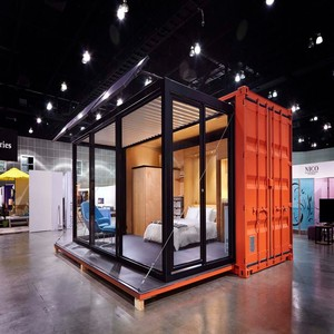 20ft china prefabricated expandable container home for sale