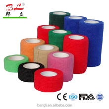 Strong adhesive non-woven cohesive bandages for finger protect