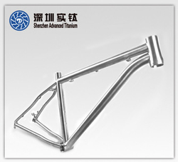 New technology Titanium super light bike frame supplier in china