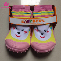 Wholesale Cute Baby Shoe Socks Toddlers Rubber Shoes Baby Skidders