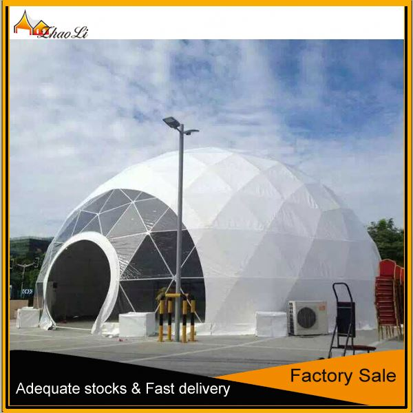 Large Half sphere dome tent for outdoor event