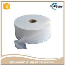 Hot air through nonwoven colorful ADL raw material for sanitary napkin baby diaper