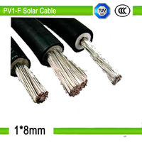 1*8mm2 Solar cable and wire used in solar system