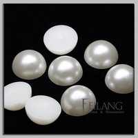 10MM ABS Half Round Loose Pearl