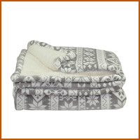 100% Polyester Queen Size Home Soft Life Comfort Blanket