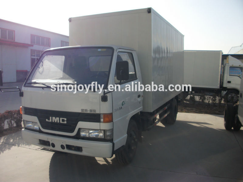 coated steel refrigerated truck body dry cargo truck box van