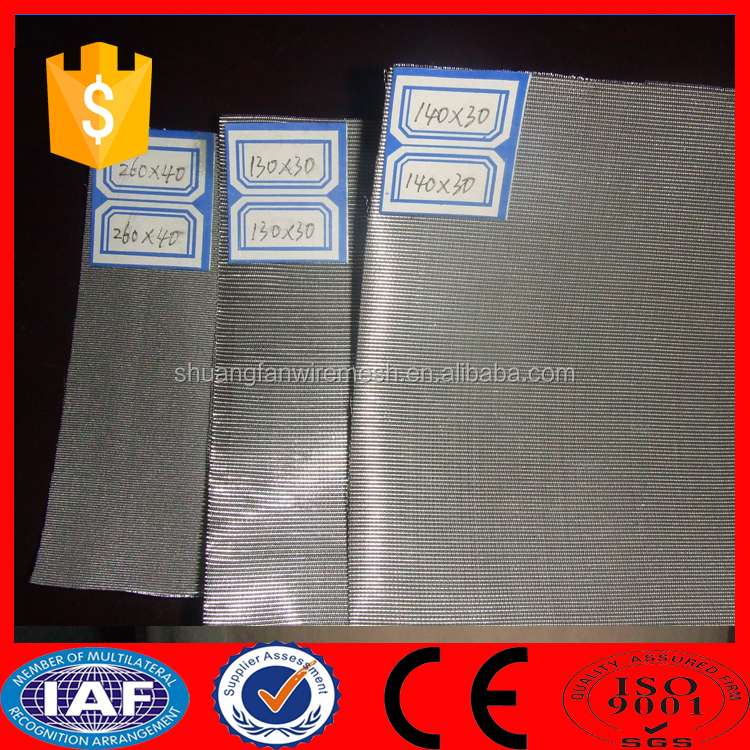 plain dutch weave/twill weave 316 stainless steel wire mesh, mesh wire